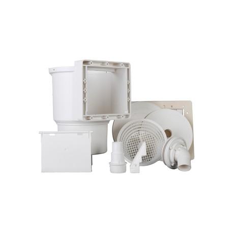 Skimmer standard - valvula impulsión - color blanco