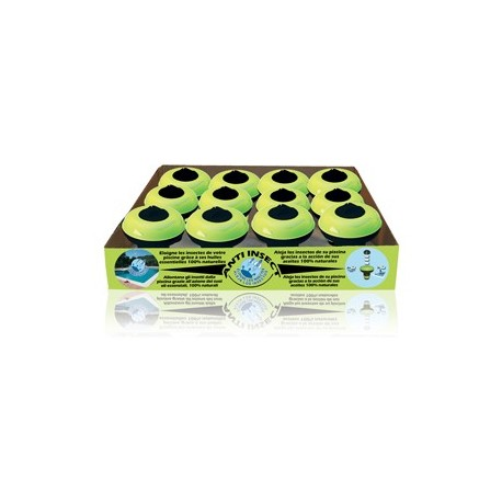 Anti insectos - Dosificador de 3 pastillas de 30gr