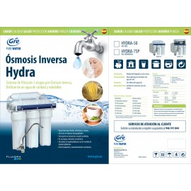"Ósmosis Inversa 5 etapas HYDRA-50 (Ósmosis Inversa standard 10"")"