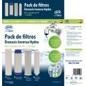 """Kit 4 Cartuchos  Reemplazo para Ósmosis Inversa standard de 10"""""""
