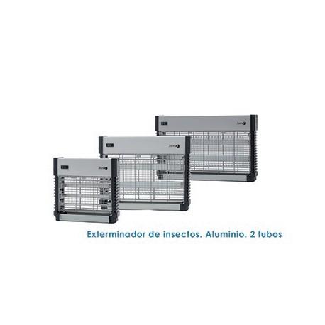 Exterminador de instectos aluminio 2 tubos