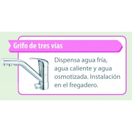 Grifo Ósmosis Inversa 3 vias