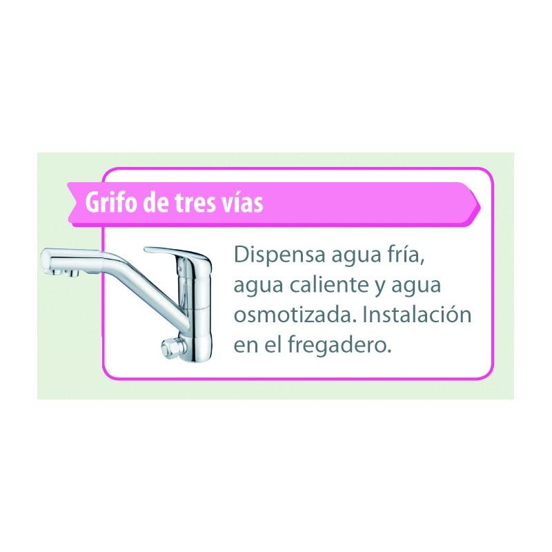 Grifo smosis inversa 3 vias aquaserveis - Grifo tres vias ...