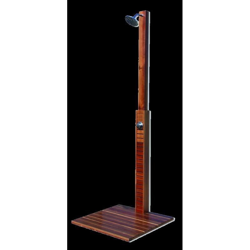 Ducha de madera aquaserveis for Ducha madera