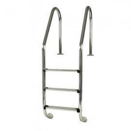 Escalera estándard 3 pleñados INOX AISI 304