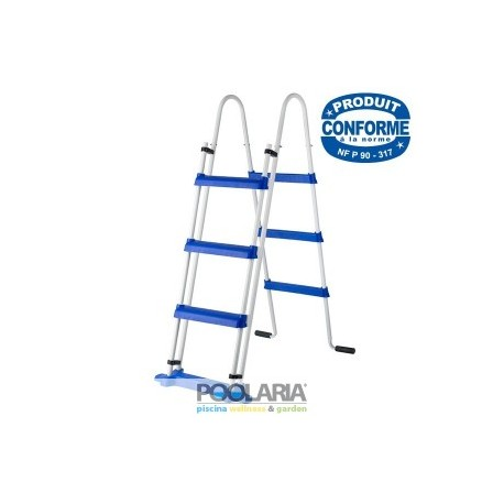 Escalera de seguridad 120cm 2x3 peldaños