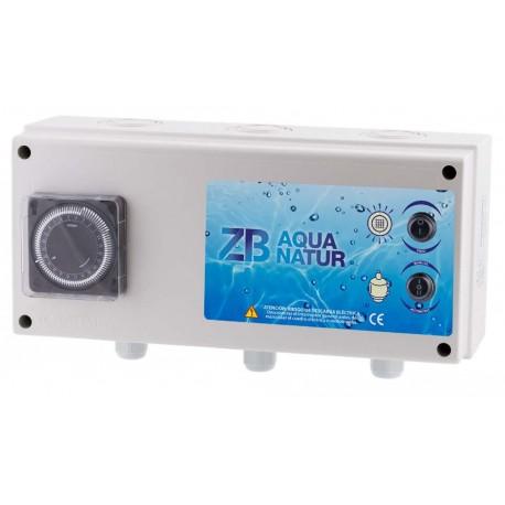 cuadro eléctrico aquanatur flitracion y iluminación 300W